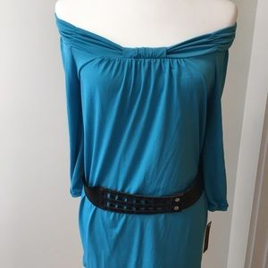 NWT AGB Off The Shoulder Dress